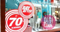 Adesivos Vitrine Day After